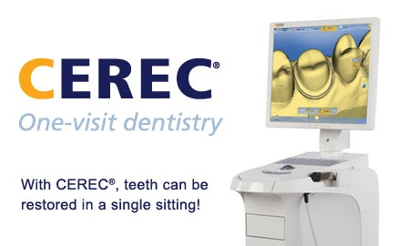 Got 2 hours? Get a dental crown….Cerec One Visit Crowns