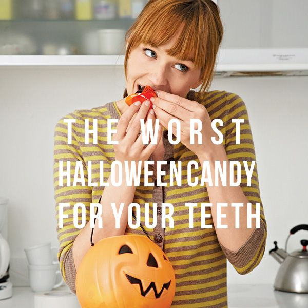 Top 5 Worst Halloween Candy for Your Teeth, According to Dentists