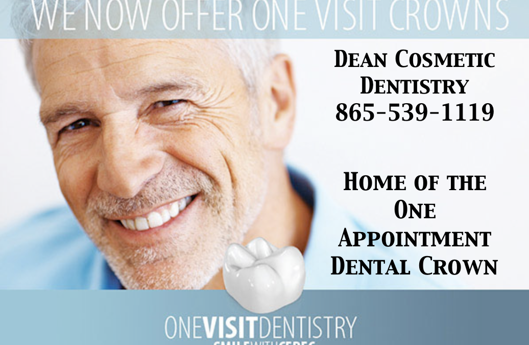 Let's compare a One Appointment Cerec Crown to a Traditional Crown