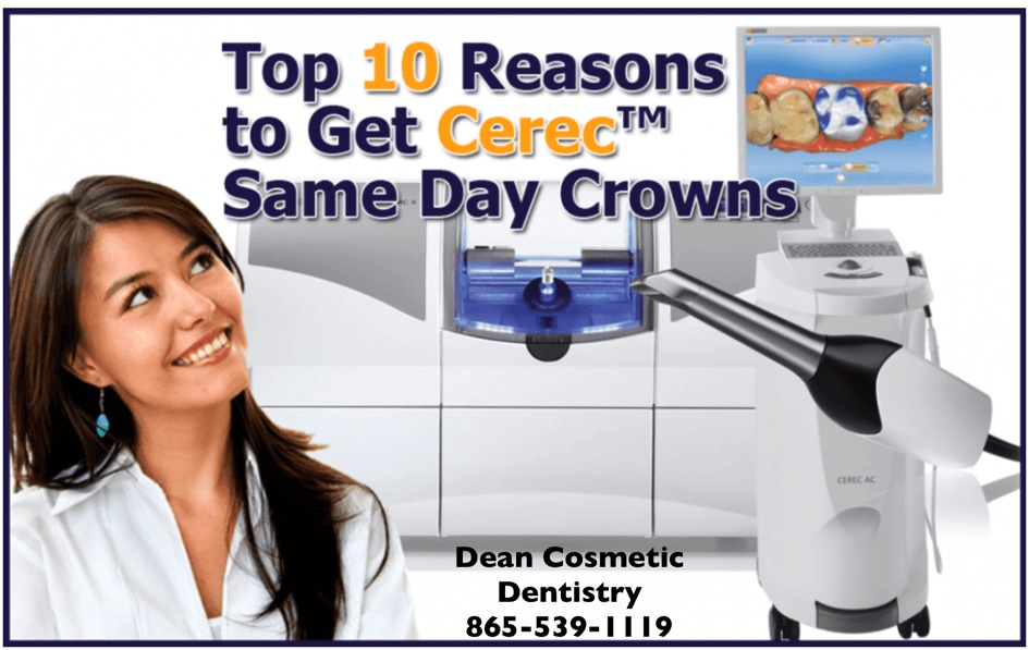Here are 10 Reasons to Consider a One Visit Dental Crown by Dr Dean